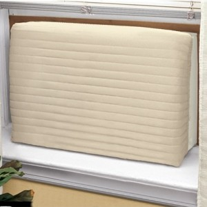 air conditioner cover beige