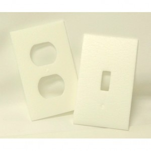 Electrical Outlet Insulation