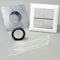 "Panasonic In-Line Fan 6"" Single Grill Installation Kit PC-NLF06S"