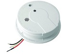 Kidde Photoelectric Smoke Alarm P12040 120VAC  9V Battery Backup