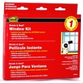 MD Shrink & Seal 42x62 Insulation Window Kit