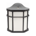 MaxliteOUTDOOR FIXTURE 14W LED SMALL LANTERN 2700K BLACK FINISH ML4LS14SOLBPC