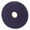 "MD 3/16"" X 3/8"" X 17' Gray Low Density Open Cell Foam Tape 02055"
