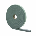"MD 1/2"" X 3/8"" X 10' Gray High Density Closed Cell Foam Tape w/Adhesive 02295"