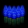 Green Watt 2.4W 35 Lite, C6 Strawberry LED Light String, Blue