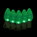 Green Watt 6.5W 50 Lite, C7 LED Light String, Green
