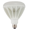 TCP LED11E26BR4027K 11W Dimmable BR40 LED 2700K