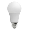 TCP L9A19D1530K Dimmable 9W Smooth A19 LED 3000K