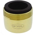 Neoperl 1020305 0.5 GPM PCA Spray Male Aerator Polished Brass