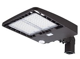 Energetic 254W LED Area Light w/Photocell 5000K E3SB240L3-750