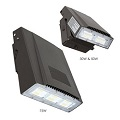 Energetic 30W LED Adjustable Wall Pack w/Photocell 5000K E1WPE30L-750