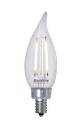 Bulbrite LED  2.5W  2700K  CA10 E12 Dimmable Candelabra
