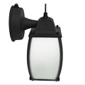 MaxLite 12W LED Ranch Lantern ML4LS12SRLBK827 Black 2700k