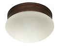 Maxlite ML2LS12XSMOR927 9 inch LED Flush Mount Fixture Oil Rubbed Bronze