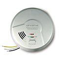 USI 2-in-1 MPC122S Photoelectric Hardwired Battery-Backup Smoke / Carbon Monoxide Alarm