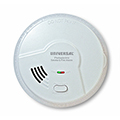 USI MP308 9V Battery-Powered Photoelectric Smoke / Fire Alarm