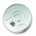 USI MI106 Hardwired Ionization Smart Smoke and Fire Alarm with Battery Backup