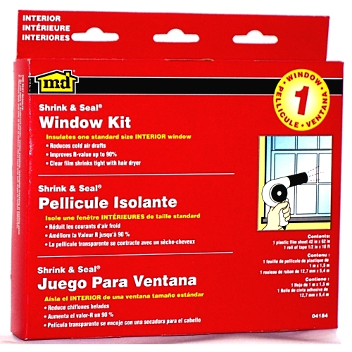 A window insulation kit is a simple and affordable way to for Window insulation kit