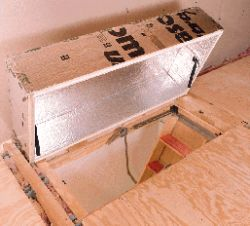Insulate Your Home With An Attic Stair Cover