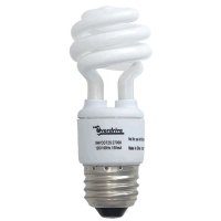 Overdrive 9w T2 Spiral CFL Bulb