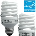 Sylvania 20w Micro-Mini Spiral CFL Bulb Two-Pack 29728