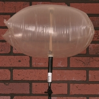 Chimney Balloon Fireplace Draft Stopper - 9 inch x 9 inch Balloon