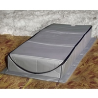 Attic Tent - Attic Stair Insulation Cover - AT-3 (22 in. x 54 in. x 13 in.)  sc 1 st  Conservation Mart & Attic Tent - Attic Stair Insulation Cover - AT-3 (22 in. x 54 in. x ...