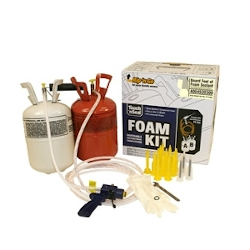 Spray Foam Insulation Kit 600 Closed Cell Polyurethane