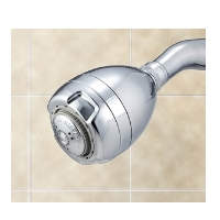 AM Spoiler 2.0 gpm Showerhead Massage- Chrome