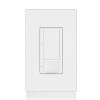 Lutron Occupancy White Wall Switch MS-OPS6AM-WH