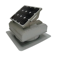 Attic Breeze 25W Solar Attic Fan AB-251A