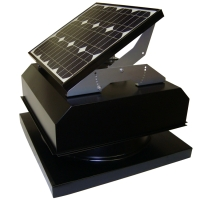 Attic Breeze 25W Solar Attic Fan AB-254A