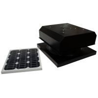 Attic Breeze 25W Solar Attic Fan AB-254D