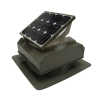 Attic Breeze 20W Solar Attic Fan AB-202A