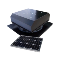 Attic Breeze 20W Solar Attic Fan AB-202D