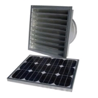 Attic Breeze 20W Solar Attic Fan AB-206