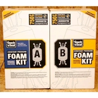 2 Part Polyurethane Foam 750 Board Feet Fire Retardant Formula