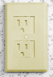 Cardinal Electrical Outlet Insulation - Ivory