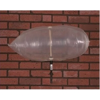 "Chimney Balloon Fireplace Draft Stopper - 24"" x 12"" Balloon"