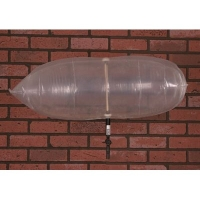 Chimney Balloon Fireplace Draft Stopper - 33 inch x 12 inch Balloon