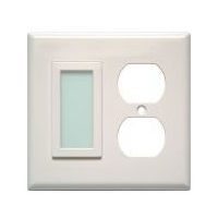 LimeLite White Duplex SideLite 12410 Night Light