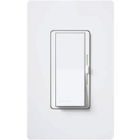 Lutron Diva White C-L Dimmer DVCL-153P-WH