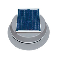 Natural Light 10W Curb Mounted Solar Attic Fan SAF10CM