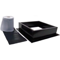 Attic Breeze Black Roof Curb Installation Kit AB-004-BLK