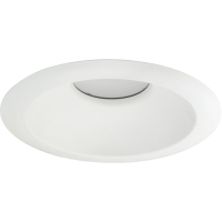 Progress Lighting LED Recessed Light Trim White P8071-28