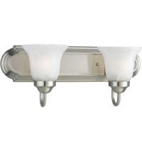 Progress 2-Light Brushed Nickel Vanity P3052-09EBWB