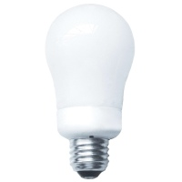 Longstar 9W Warm White A-Lamp CFL FE-GU-9W/27K