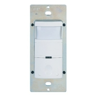 Enerlites Passive Infrared Wall Switch Vacancy Sensor, White HMVS-W