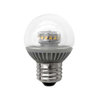 TCP LED4E26G1627K LED 4W Dimmable G16 Globe 2700K