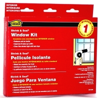 MD Shrink & Seal 42x62 Window Insulation Kit for 5 Windows 04200